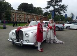 Rolls Royce for weddings in Portsmouth